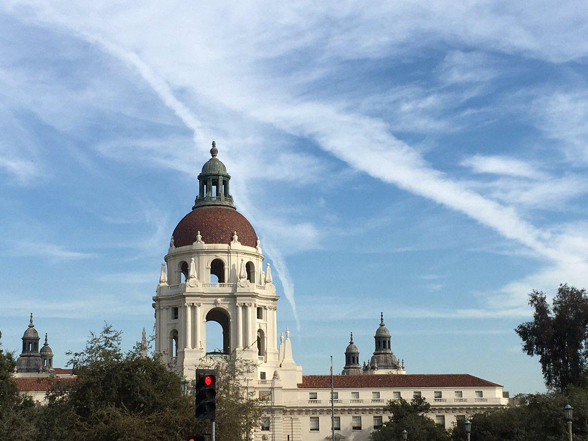 Pasadena looking a bit Europeanyish today