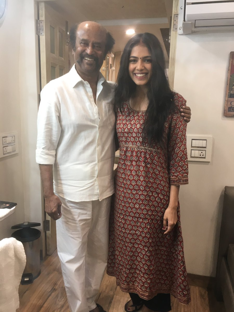 It was an absolute dream come true to share the screen with you! All the little moments we shared together, and the amazing conversations we had on set will always be some of my most cherished memories. Happy happy birthday Thalaivar ♥️
