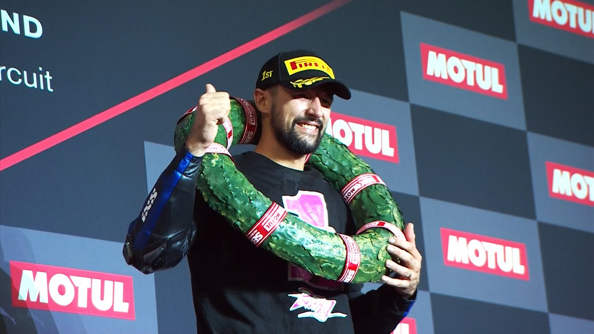 "test Twitter Media - Randy @Krummenator 2019 Champion: ""Federico helped me to improve myself""  📹 INTERVIEW 