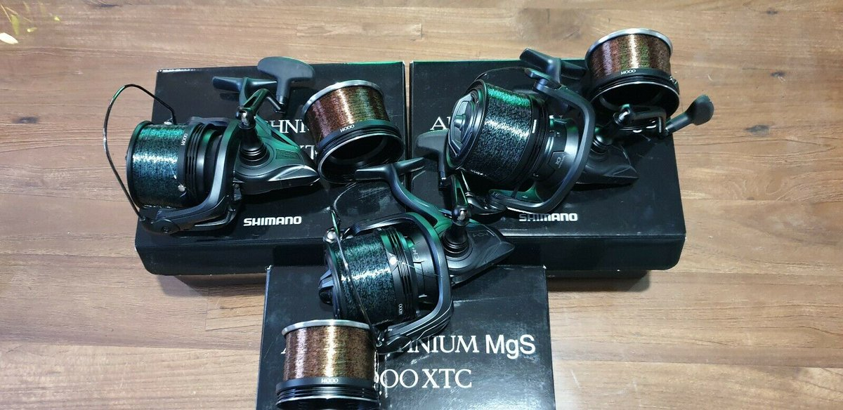 Ad - SHIMANO AERO TECHNIUM MGS 1400 XTC CARP FISHING REELS On eBay here -->> https://t.co/JL8l