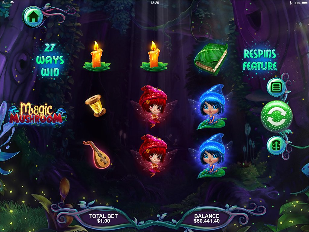 🚨🚨RTG's #MagicMushroom #slot is out now! Find out more:  🍄 #pokies #slots #onlinecasino #bitcoincasino #bitcoin #casinogames