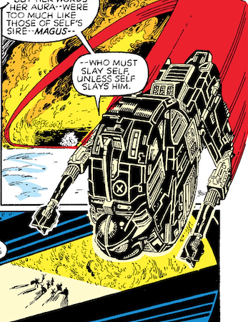 test Twitter Media - Here's another... artist Arthur Adams snuck in an image of Kenner's SW mini-rig Endor Forest Ranger toy into an issue of The New Mutants... Warlock turned into the vehicle. https://t.co/ZqKvp8mtz8