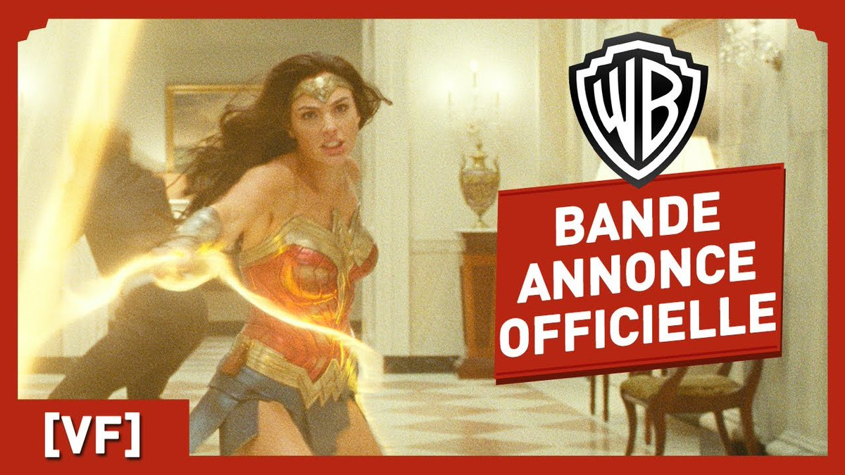 test Twitter Media - Wonder Woman 1984 #WonderWoman1984  - Bande Annonce Officielle (VF) - Gal Gadot #GalGadot / Chris Pine #ChrisPine https://t.co/EU6n0JNRgJ https://t.co/O72w78OkwV