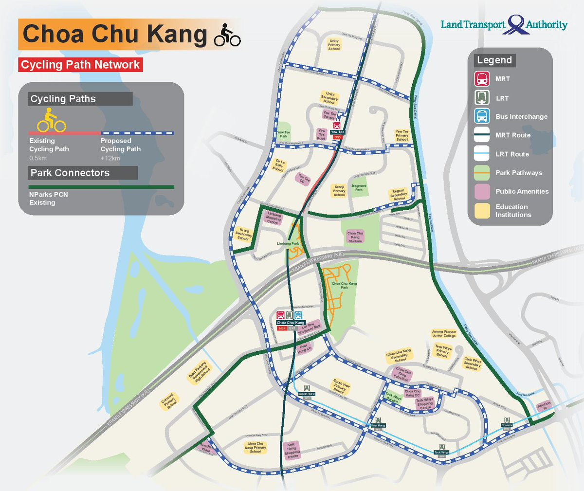 test Twitter Media - Good news for Choa Chu Kang (CCK) and Woodlands residents – we are paving the way for more cycling paths in your estates! 🚲 Find out more at https://t.co/N2tU0vIEUs. https://t.co/MdS0AHLmh5