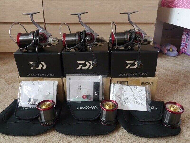 Ad - 3x Daiwa Basiair Z45QDA On eBay here -->> https://t.co/RlHN1jtTWl  #<b>Carp</b>fishing ht