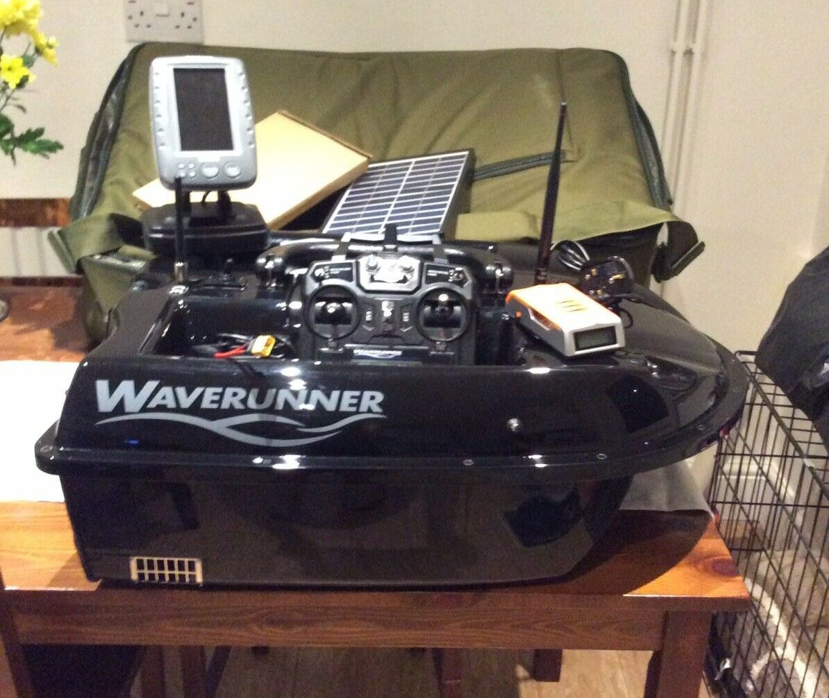 Ad - Waverunner Mk4 Bait<b>Boat</b> 5.8GHz With Colour Fishfinder On eBay here -->> https://t.
