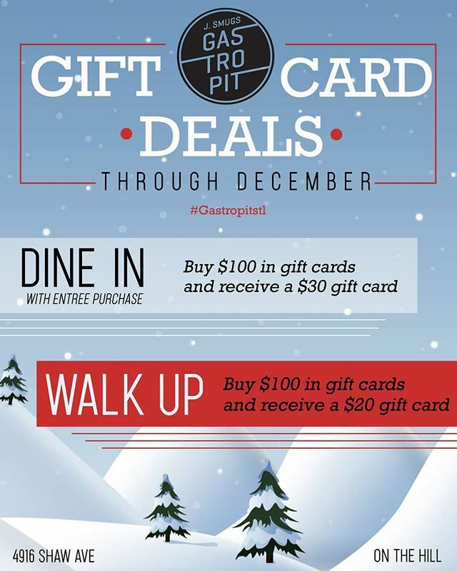 test Twitter Media - DO NOT MISS OUT on these awesome Gift Card Specials this month at the GastroPit! Give the gift of your favorite #stlbbq and be rewarded for it! #gastropit #new #giftcards #onthehill https://t.co/niHQ8j5koT https://t.co/cPyjjl1O55