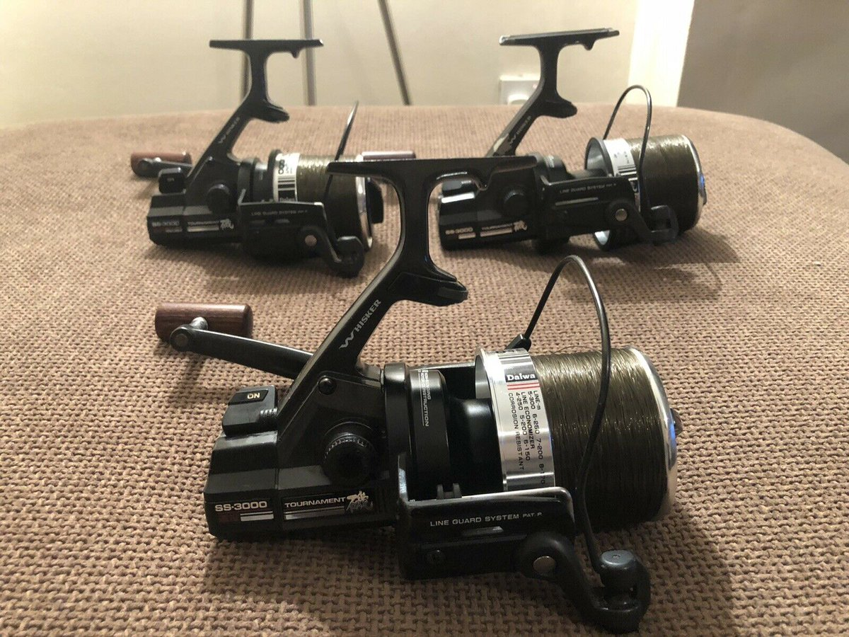Ad - Daiwa Whisker Tournament SS 3000 Pit Reels On eBay here -->> https://t.co/rGEuwwcIZs  #<b