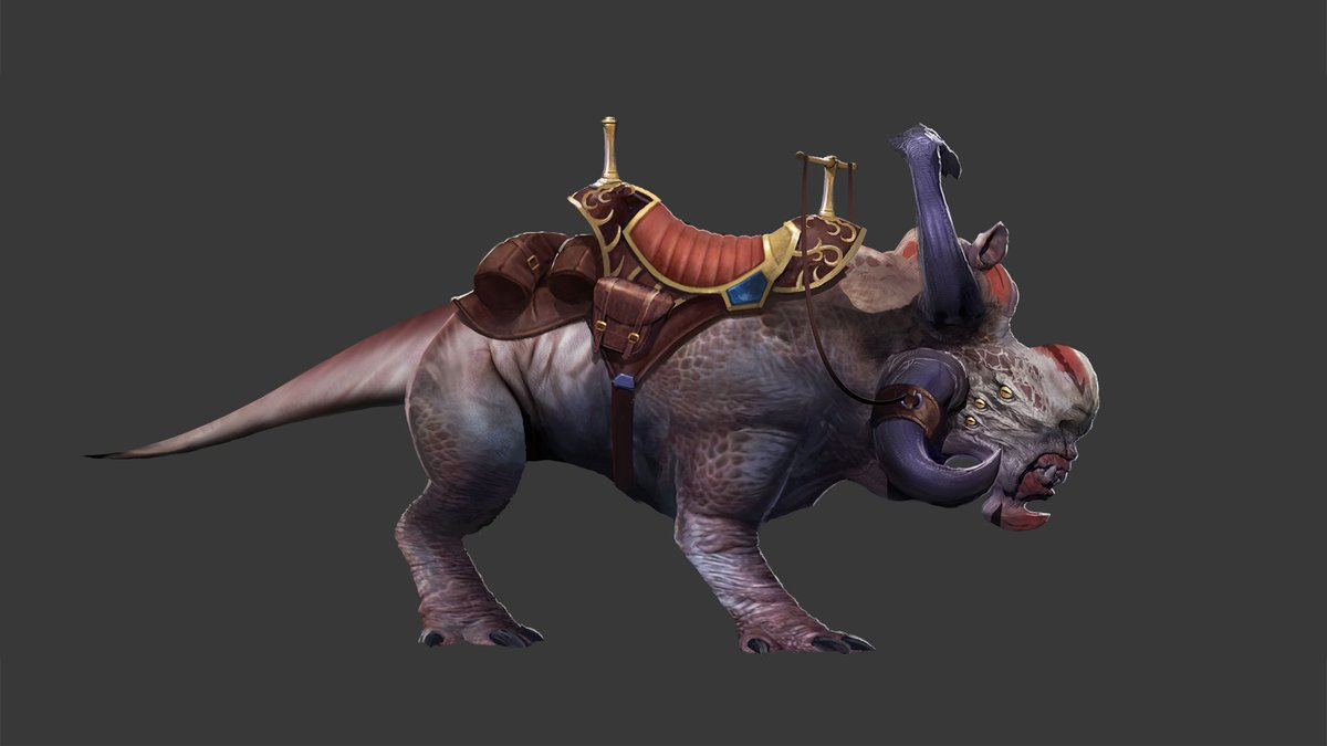 test Twitter Media - The Heavy Arkonok Mount is available for players who reach Champion status with their faction on Onderon! Here is a comparison between its concept art and the final version. https://t.co/fuzoJGLeLK