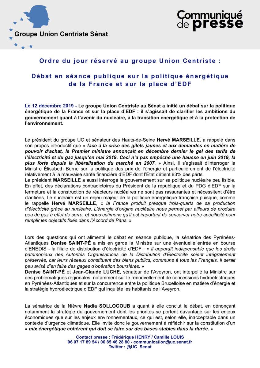 #REPLAY - #COMMUNIQUÉ - #DÉBAT - #NicheUC   👉