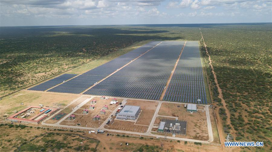 #Kenya launched a Chinese-built 50MW #solarpower farm located in the northeast region, with the plant being one of the #largest photovoltaic electricity stations in Africa https://t.co/IIc8fOY0z0