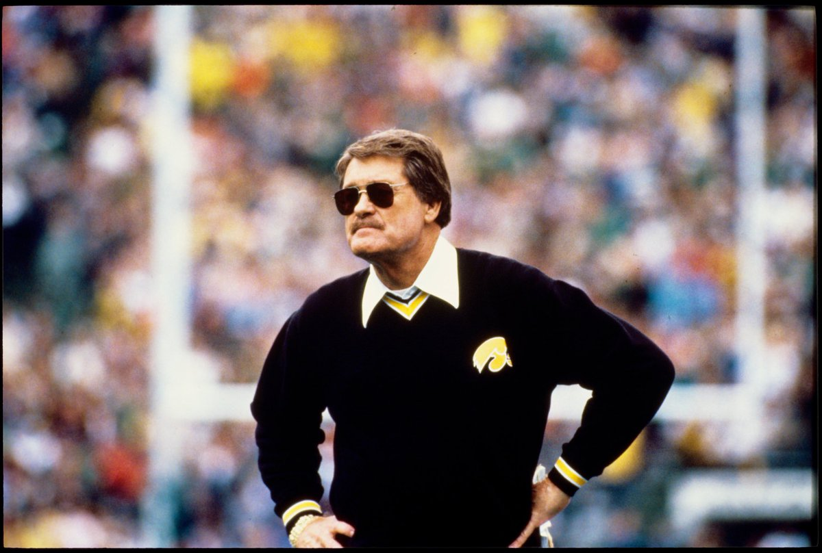 We lost a Hawkeye legend today, but his legacy will live on forever.