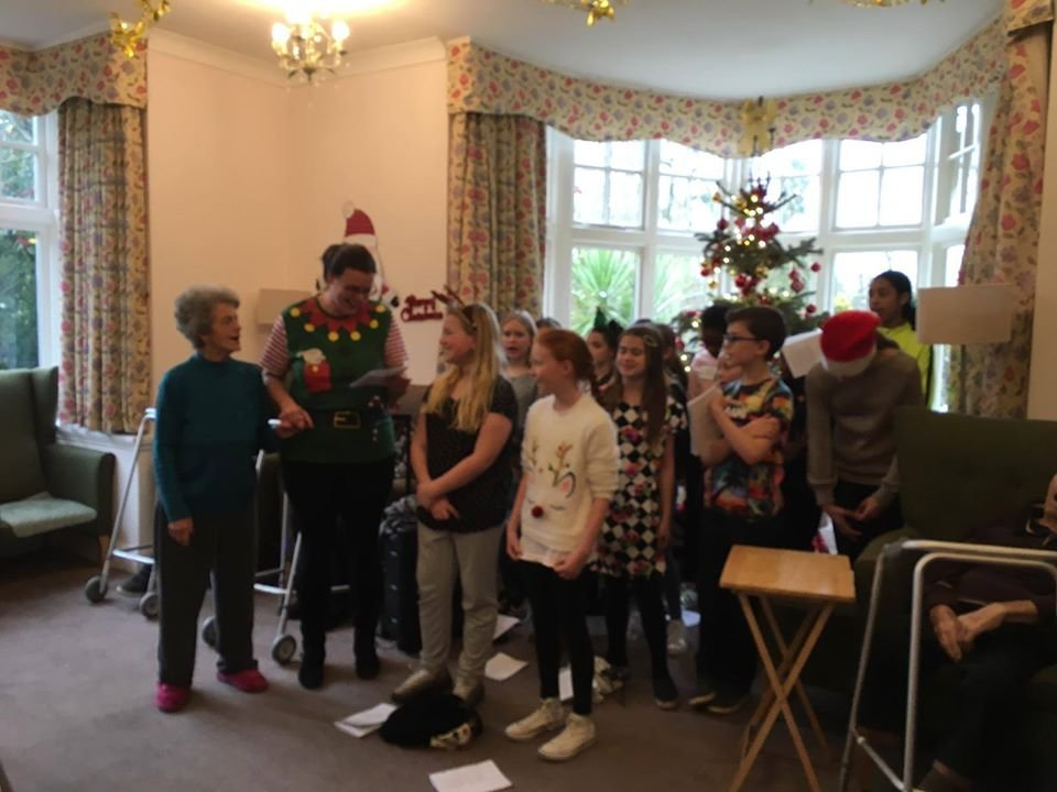 test Twitter Media - The choir children from Year 6 were brilliant at Bournville Grange this morning. The carol singing was so fantastic the residents came and joined the choir! https://t.co/U1aFnpJb6E