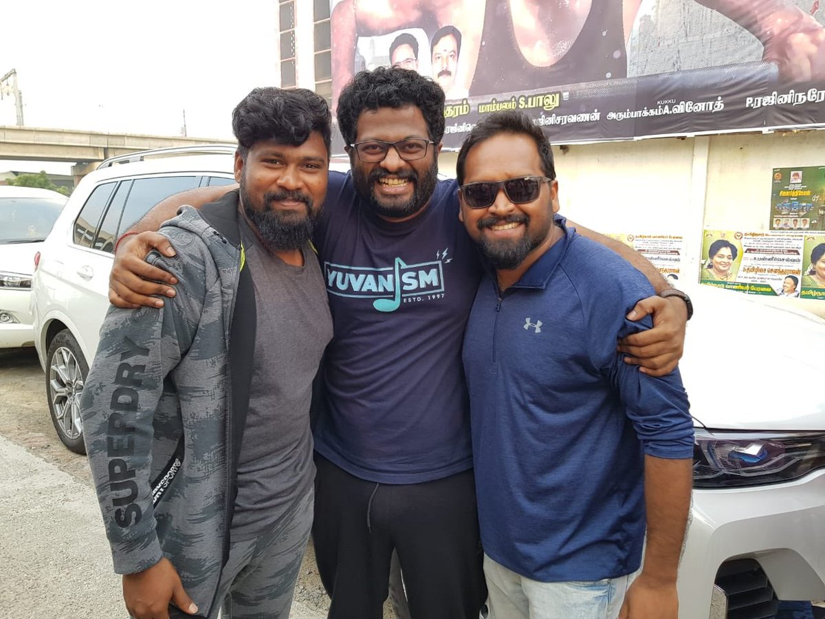 #hero morning 4am show in @RohiniSilverScr awesome very happy part of the movie very emotional @george_dop @Psmithran @AntonyLRuben