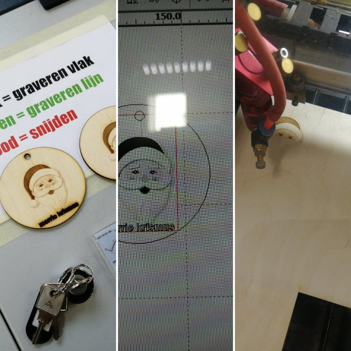 test Twitter Media - Tijd om zelf eens te leren hoe de lasercutter werkt. Kinderlijk eenvoudig. Tijd om met onze studenten mooie dingen te ontwerpen @leraarworden #hanpabo https://t.co/GiqYWWpi9M