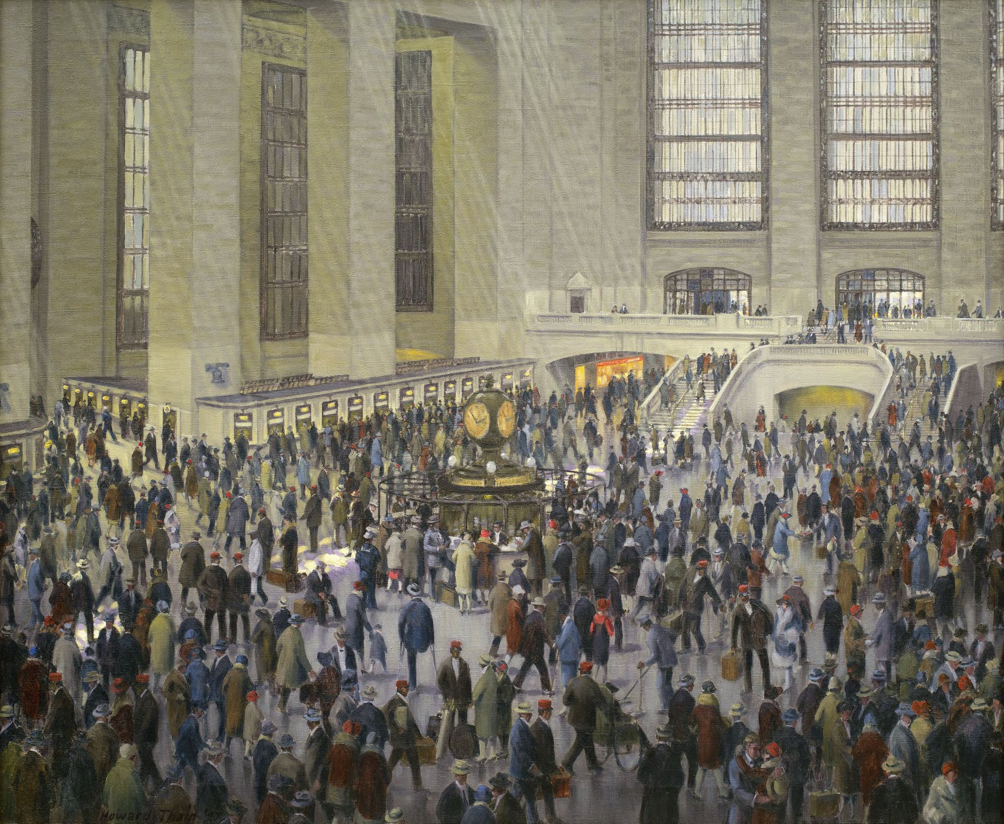 🕰️🥰 Years ago, they made a promise to meet under the clock at Grand Central & reunite if either of them was single.   Now as the fateful day approaches, will holiday crowds stand in the way of their Christmas happily ever after? #MuseumHolidayMovies https://t.co/vzpPHrBWbb