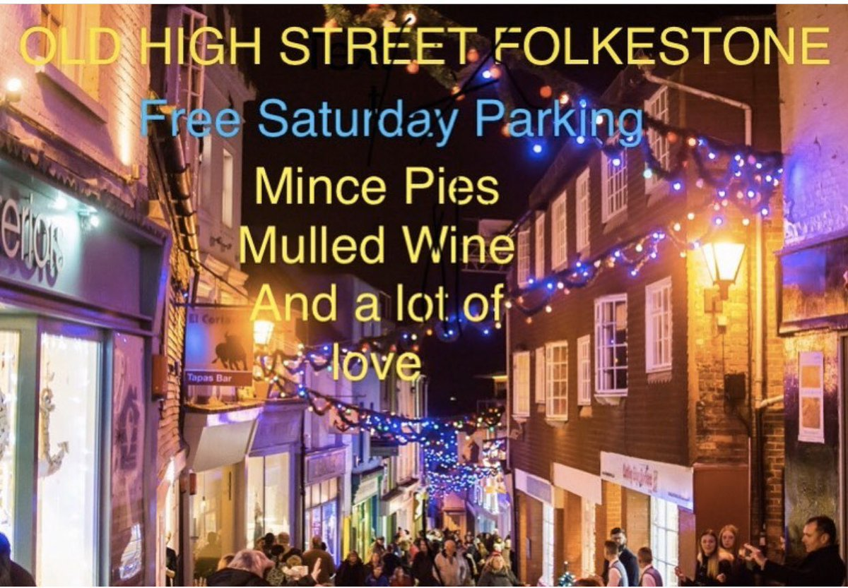 test Twitter Media - The Old High Street Folkestone is the perfect place to come & find those last minute gifts this weekend. Shop local in the many fabulous independent shops up & down our festive cobbled street. #creativefstone #Folkestone #kent #oldhighstreetfolkestone https://t.co/bjpdXt1o3R
