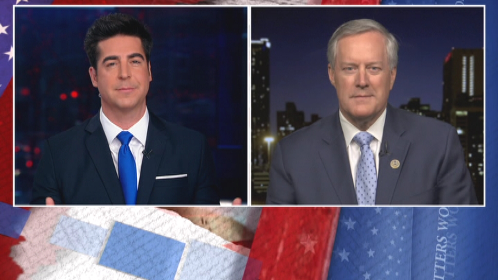 After a week of Impeachment Implosion, @RepMarkMeadows announces he is not seeking re-election. He is in Watters' World to talk all about the week, tonight. #FoxNews 8PM ET.