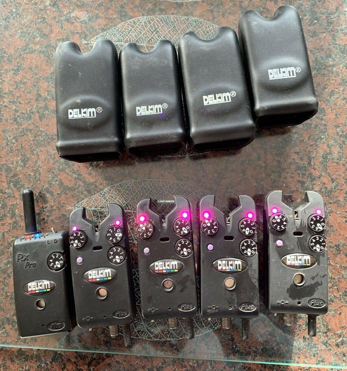 Ad - 4x Delkim Txi+ (Purple) & Reciever On eBay here -->> https://t.co/0qQt2G3UN8  #carpfi