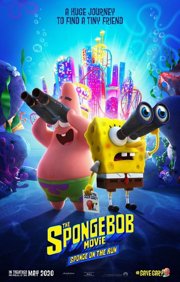 test Twitter Media - The search for Gary is on! Check out the official poster for #SpongeBobMovie: Sponge on the Run and see it in D-BOX on May 22!  //  La recherche pour retrouver Gary est lancée! Découvrez l'affiche officielle de#SpongeBobMovie et voyez-le en D-BOX le 22 mai! https://t.co/LDbOOZzUos