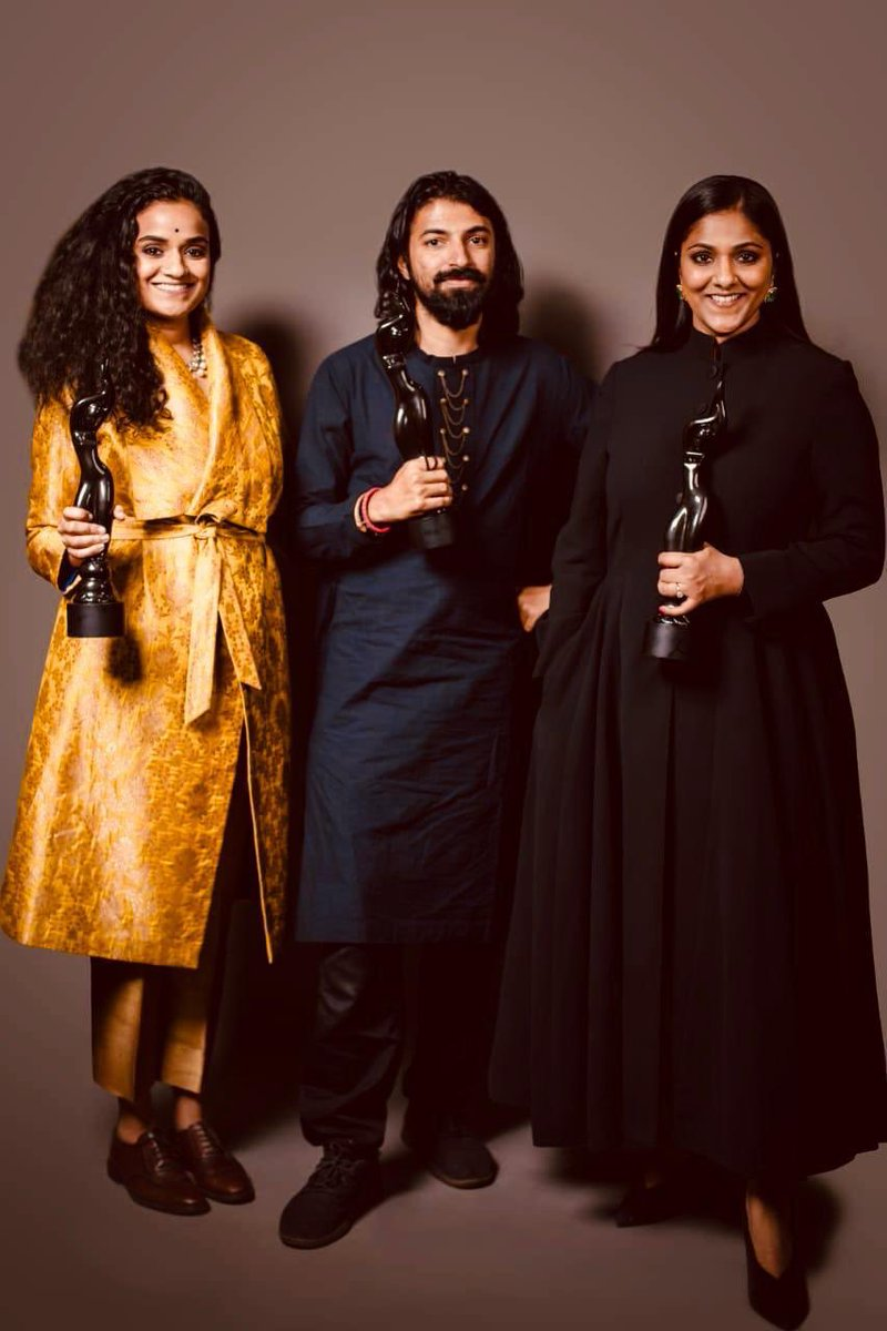 Congrats to #Mahanati Team @VyjayanthiFilms @SwapnaCinema for #FilmfareAwards 💐 Most deserved awards for their talent & hard work. BestFilm @SwapnaDuttCh #PriyankaDutt 👏 BestDir @nagashwin7 👏 BestActress @KeerthyOfficial 👏 BestActorCritics @dulQuer 👏 #FilmfareawardsSouth2019