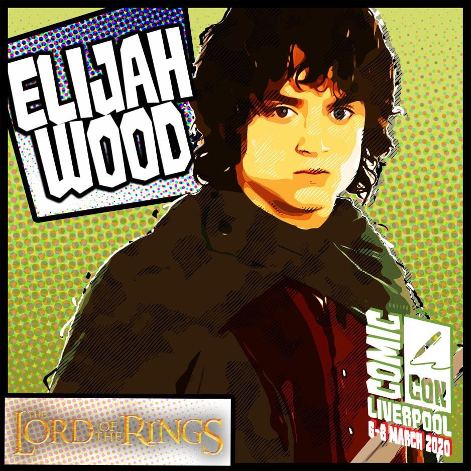 Elijah Wood has been confirmed for Comic Con Liverpool March 7-8  Tickets are selling fast and with more announcements to come the event will without doubt sell out #thehobbit #hobbit #frodobaggins #sincity #elijahwood  Secure your tickets here:-