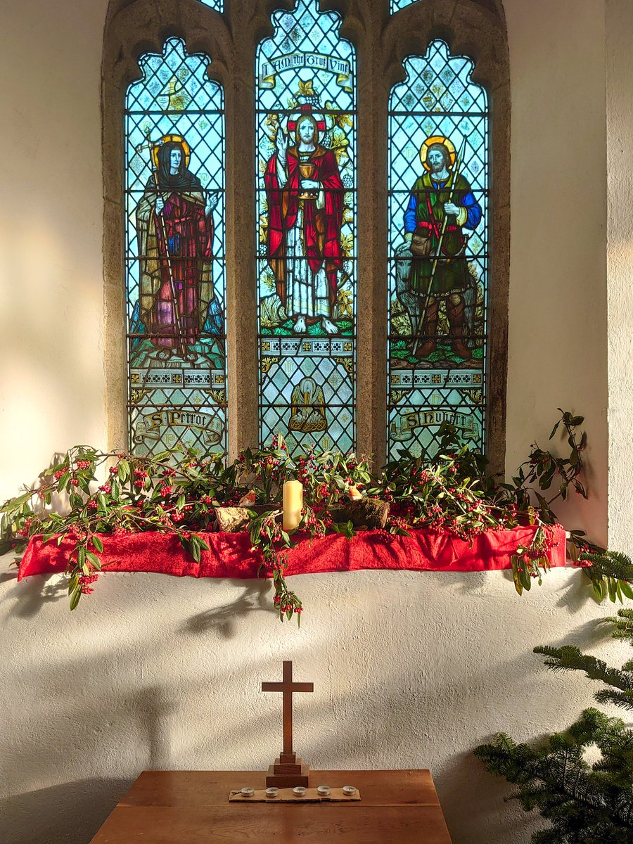 test Twitter Media - St Petrocs Church, located just inside Dartmoor National Park. Simple festive  decorations on display for those that choose to visit during the Christmas holidays.  A sanctuary away from the commercial-side of Christmas. #Ivybridge #Dartmoor #Harford #Christmas https://t.co/39WxO8N89H