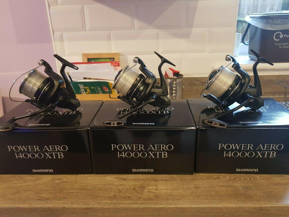 Ad - Shimano Power Aero 14000 XTB x3 On eBay here -->> https://t.co/Rn538bxWEA  #carpfishing h