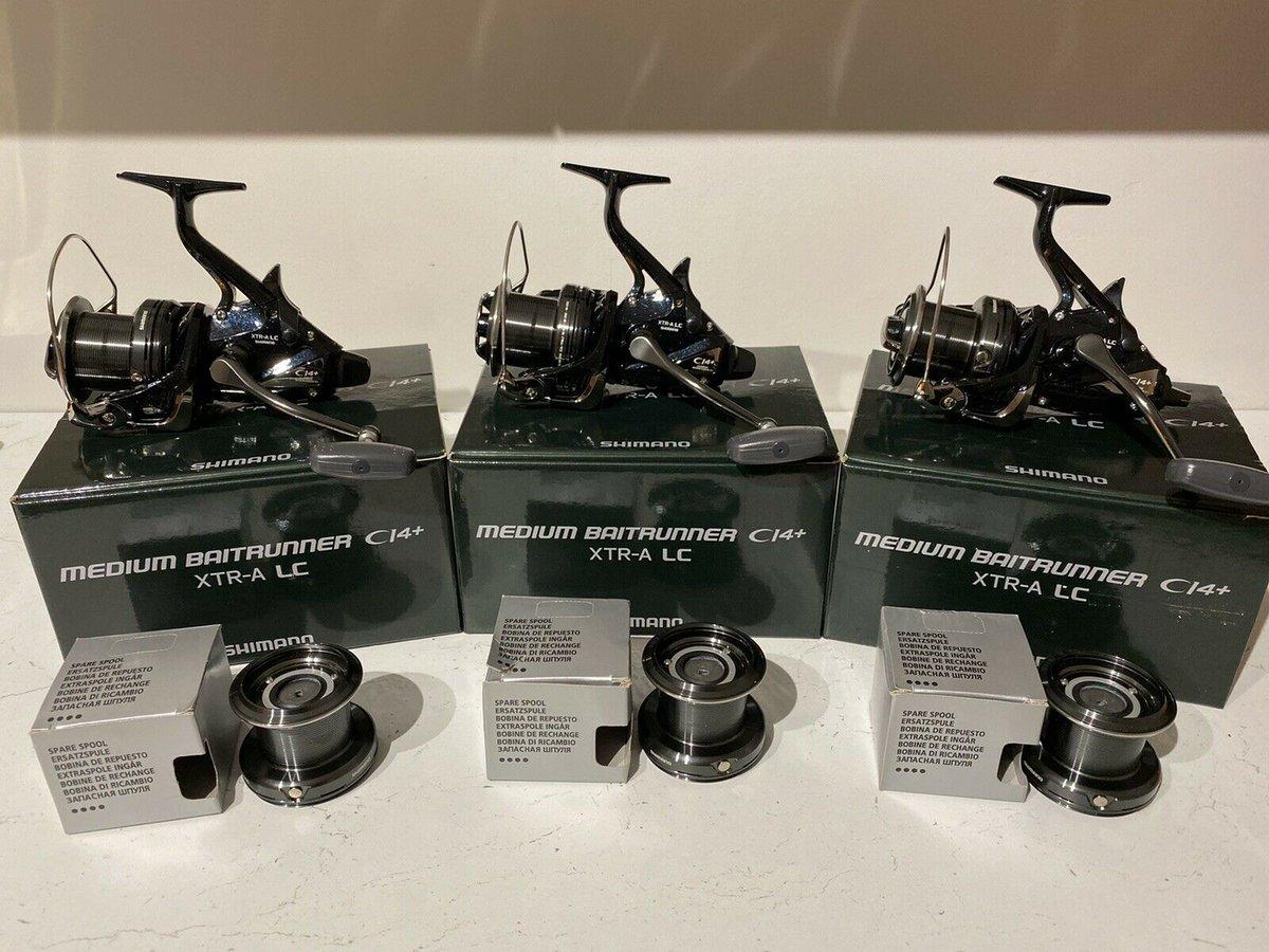 Ad - 3 X Shimano Medium Baitrunner CI4 XTR-A LC On eBay here -->> https://t.co/yks5h1ce6u  #ca