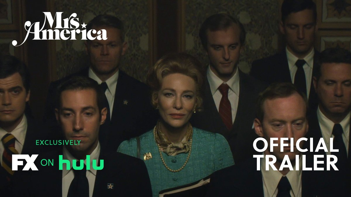 Women across America fought for equal rights. One woman fought to stop them. Watch the OFFICIAL TRAILER for #MrsAmerica, starring Cate Blanchett. Premiering April 15 exclusively on #FXonHulu.