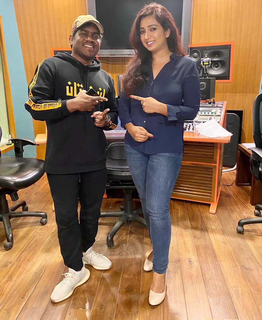 With the one and only one -  U 1 @thisisysr So great to collaborate with you once again! And finally we have a picture together ☺️☺️