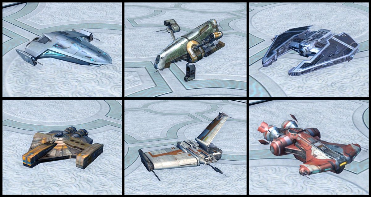 test Twitter Media - In the latest Cartel Market update we added the Model Class Starships Bundle. All six Class Starships are available as Mini-pets, following the player's adventure across the galaxy.  https://t.co/dhpYUXss6l https://t.co/L7gXQ00jqu