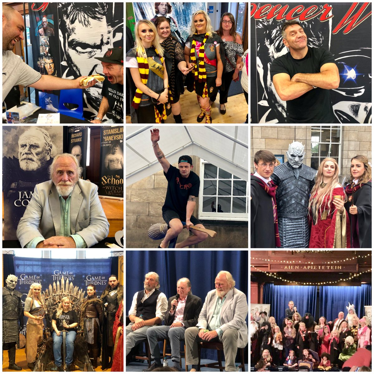⚡️⚡️Some highlights from @ftlofantasy 2019. An epic Fantasy Comic Con. 2020 will be even bigger and better! ⚡️⚡️   What was your highlight ?   Tickets are selling fast click here to buy:-   #fortheloveoffantasy #fantasy #scotland