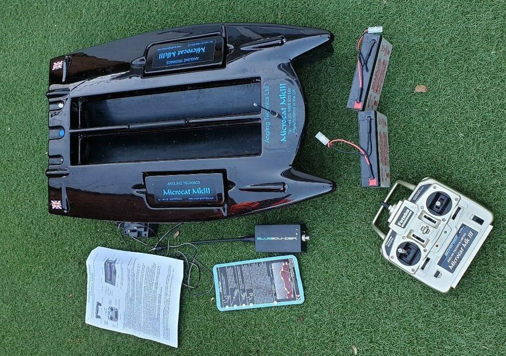 Ad - Microcat MkIII Bait Boat On eBay here -->> https://t.co/Tyb7o191yD  #carpfishing #<b>Bait