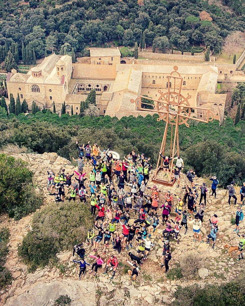 120 personnes sont montés à la Croix de Fontfroide le 31 décembre pour vous...