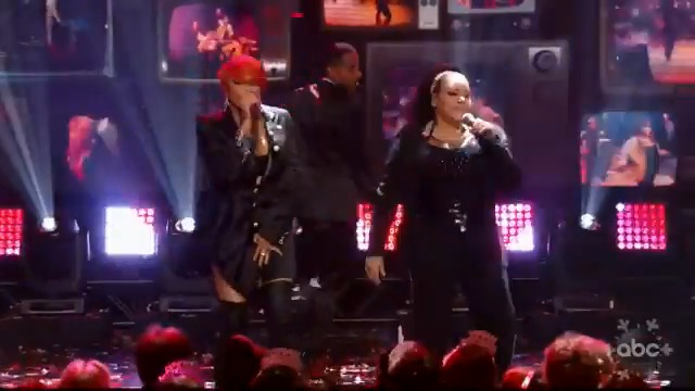 """VIDEO: @TheSaltNPepa performs their hit single, """"Push It"""" on Dick Clark's New Year's #RockinEve!"""