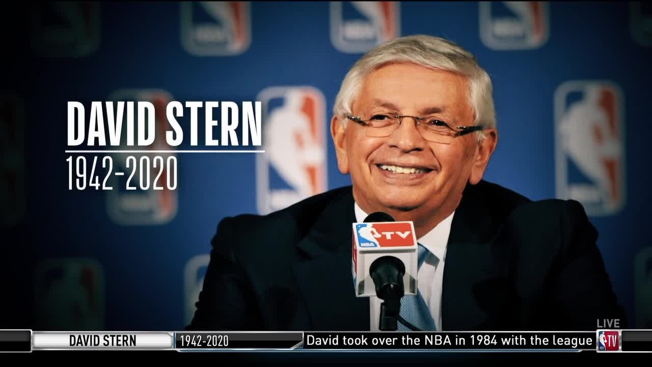 A pioneer who transformed the game.  @TurnerSportsEJ remembers the life and legacy of former NBA commissioner David Stern.  (via @NBATV)  https://t.co/z1BelC2r9o