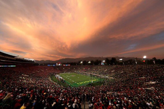 The Rose Bowl really is the Mecca of college football, isn't it? https://t.co/OUOqcec2F7