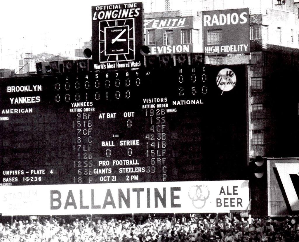 RIP to a World Series legend and a very good man in Don Larsen, who passed away yesterday at age 90. This scoreboard only tells part of the story of this man's life https://t.co/zxIKief1CG