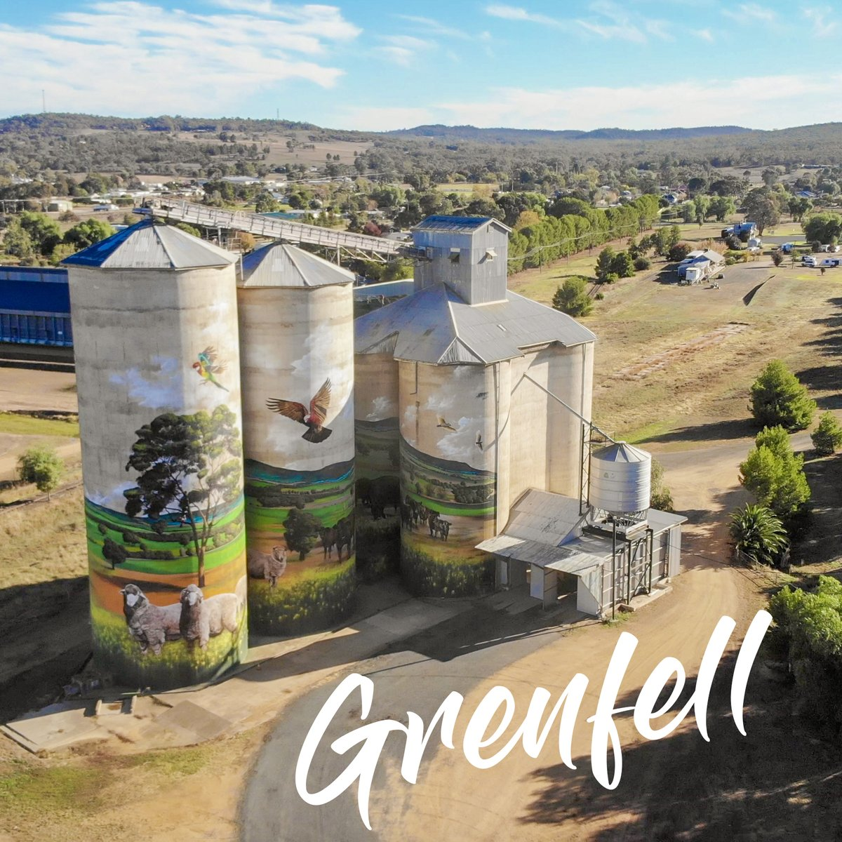#Flashbackfriday Small town, big art - what gems have you discovered in regional NSW? @Heesco #teachnsw #goingplaces  #australiansiloarttrail https://t.co/UHRddTaGqv