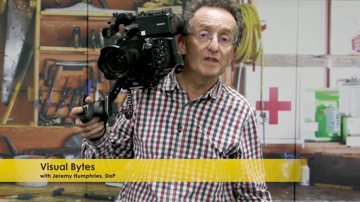 Check out #VisualBytes…a series of short 'how- to' videos hosted by experienced DoP #JeremyHumphries.