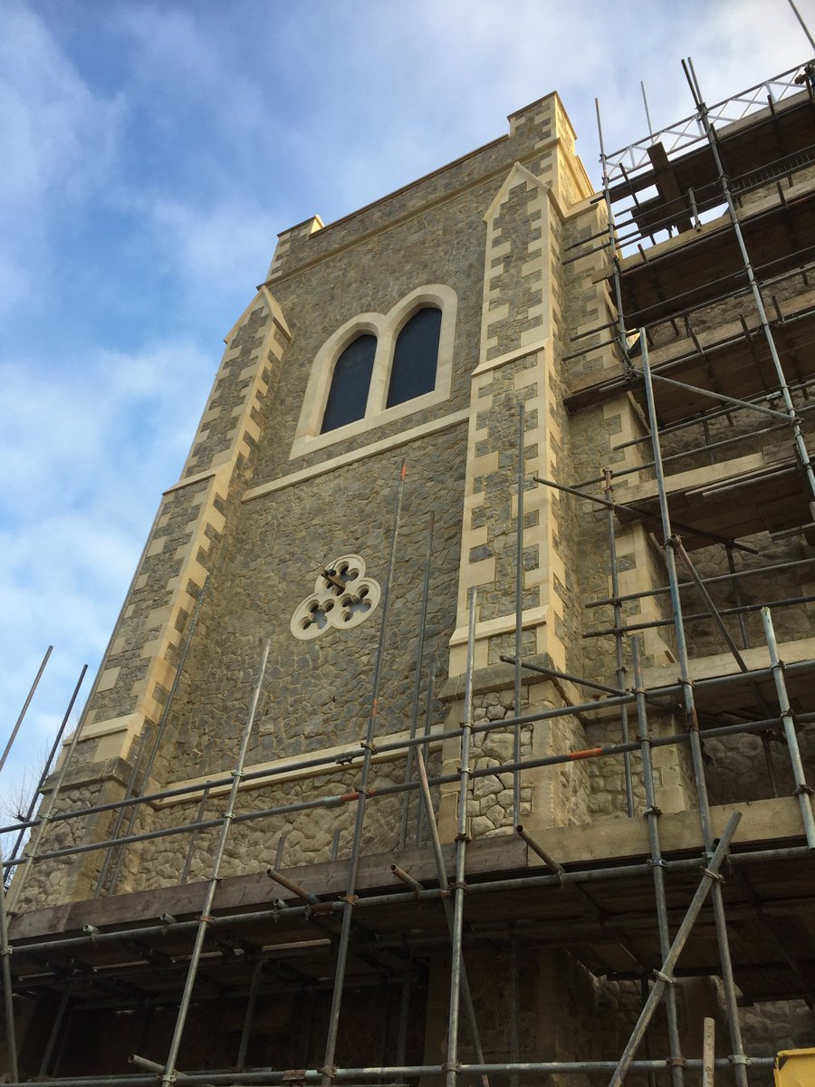 Happy new year to all our customers, A new tower added to Christ Church in Teddington. https://t.co/j