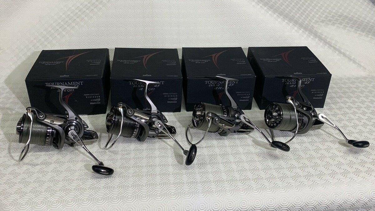 Ad - 4 X DAIWA TOURNAMENT BASIAIR 45 QD CARP REELS On eBay here -->> https://t.co/2DJbiX04vM