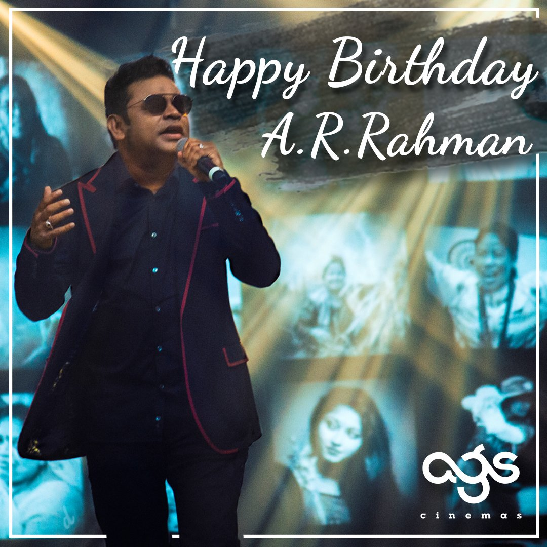 Happy birthday @arrahman sir! Thanks for all the amazing music and thanks for being such a constant inspiration to the entire industry!  #HappyBirthdayARRahman #HBDARRahman