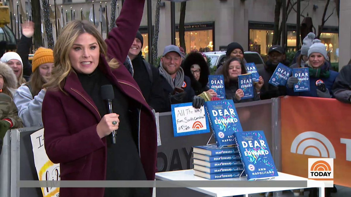 It's the first full week of the new year, and that means it's time for @jennabushhager's book club pick for January! She even gave a copy to @oprah! #ReadWithJenna