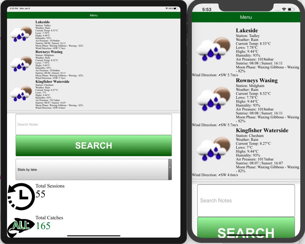 CarpCal IOS App is nearly <b>Ready</b> for launch #CarpCalAppIOS #Carpy #CarpFishing #CatchReport ht