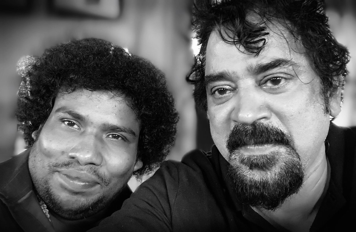 Selfie - Darbar shoot - With The amazing Yogi 😀