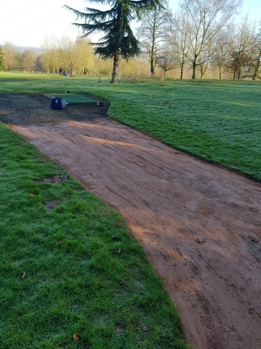 test Twitter Media - Time to start some tidy up jobs.  Path edging today  on 17 and 5 @IngestreParkGC @andyb381 https://t.co/x9oupFghar
