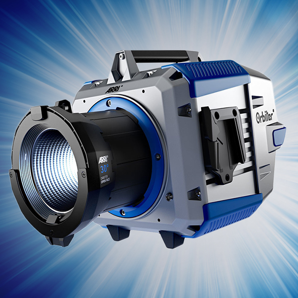 #ARRI #ORBITER - the ultra-bright LED point source