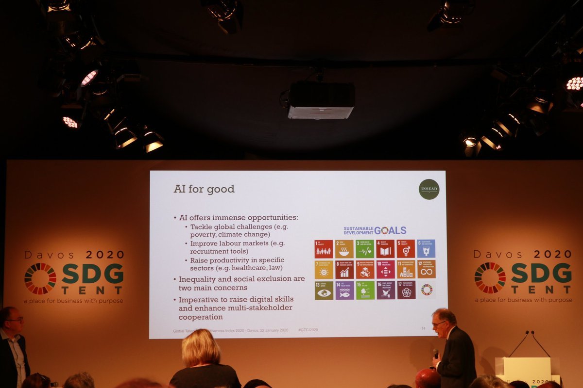 test Twitter Media - We're here at the #SDGTent at #Davos2020, with an amazing panel on talent in the age of #ArtificialIntelligence! https://t.co/M8by4RXm0E